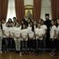 Τα παιδιά της Κιβωτού του Κόσμου στον Αρχιεπίσκοπο